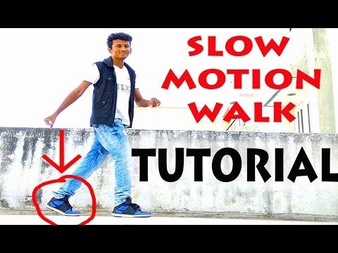 How to do the Slow Motion Walk?   Nishant Nair Tutorial