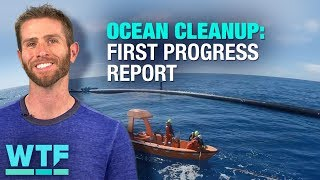Ocean Cleanup: The first progress report is in | What the Future