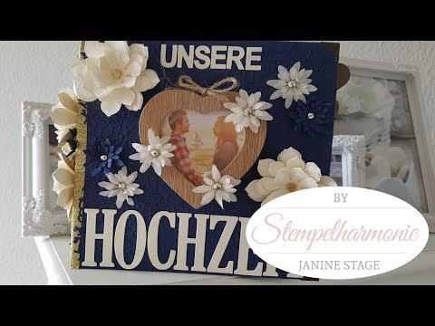 Hochzeitsalbum DIY | Fotoalbum | Scrapbookalbum