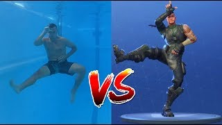 FORTNITE DANCE CHALLENGE IN REAL LIFE | Underwater and Extreme Edition
