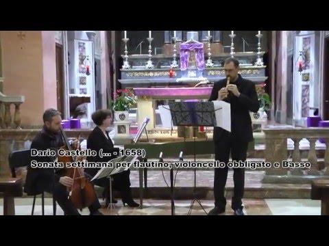 DARIO CASTELLO Sonata Settima a tre. Giorgio Matteoli