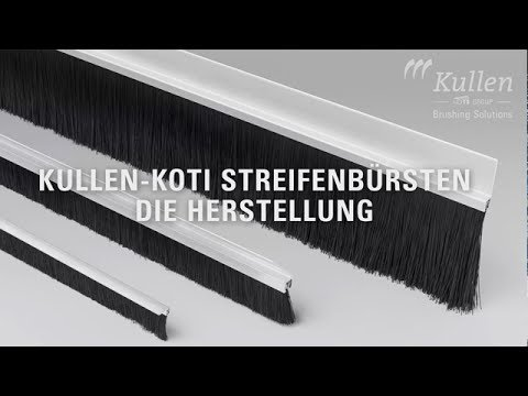 "Kullen-Koti Bürsten - ""Sealgate"" - Part 1 ""How it's made"" - Streifenbürsten"