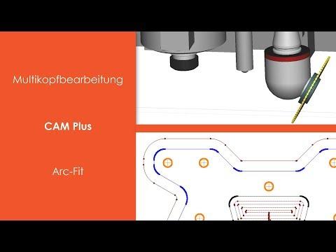 PENTA-NC - CAM Plus: Arc-Fit und Multikopfbearbeitung