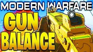 MODERN WARFARE WEAPON BALANCE! - 725, OVERKILL, UZI, RIFLES! (Modern Warfare Weapon Updates we need)
