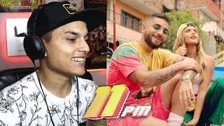[Reaccion] Maluma   11 PM (Official Video) Themaxready
