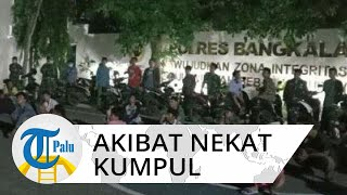 Nekat Buat Kerumunan di Tengah Wabah Corona, 42 Pemuda di Bangkalan Diciduk Polisi