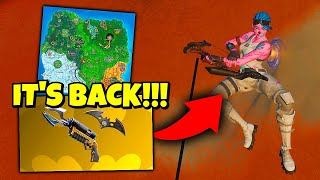 this hasn't been in fortnite for 2 years... (IT'S BACK!)
