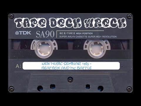 New Music Seminar 1985 – BeatBox and MC battle