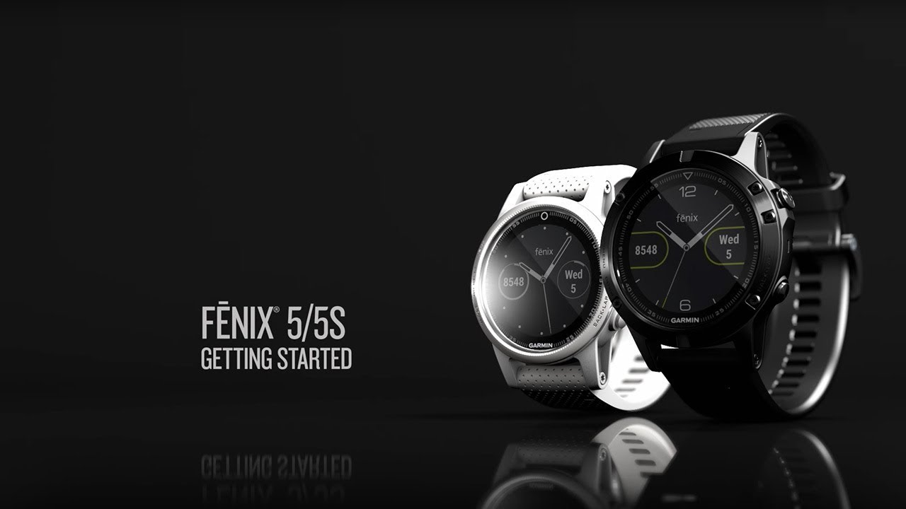 Garmin Fēnix 5 Quartz // Sapphire Edition // 010-01688-10 video thumbnail