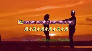 Dil bekaraar Sa hai - Full Karaoke Highlighted Lyrics - YouTube