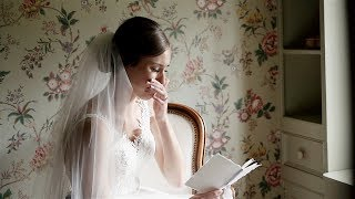 Brides Reaction To Grooms Letter Will Make You Cry (SUPER EMOTIONAL WEDDING VIDEO)