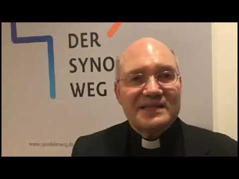 Bischof Dr. Helmut Dieser schildert seine Eindrücke der Synodalversammlung