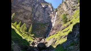Поход к каскаду водопадов на реке Шинок