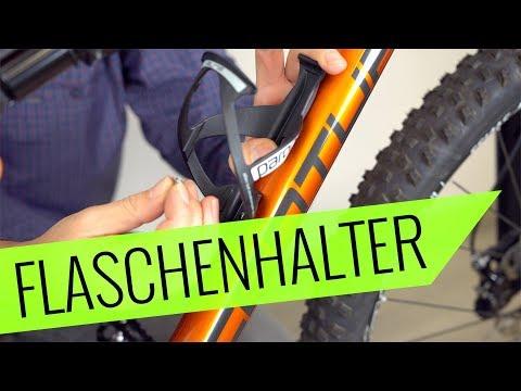 Flaschenhalter Montage am Fahrrad - einfach, richtig & schnell - Fahrrad.org