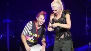 """""""Fans Invited Onstage & Asking 4 It"""" Gwen Stefani@BBT Pavilion Camden, NJ 7/19/16"""
