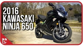 2016 Kawasaki Ninja 650 | First Ride