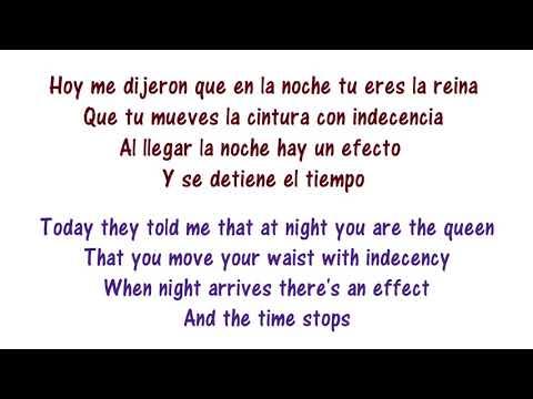 Enrique Iglesias - Noche Y De Dia Lyrics English and Spanish