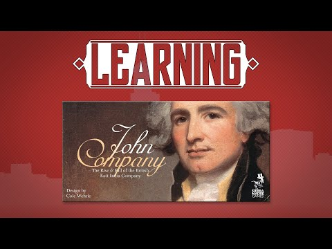 Learning John Company, the Board Game.