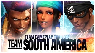 "KOF XIV - Team Gameplay Trailer #8 ""SOUTH AMERICA"""