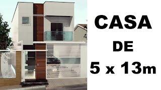 Plano de casa 7x20 mts casa marissa ventilaci n cruzada for Casa moderna minimalista 6 00 m x 12 50 m 220 m2