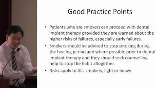Dental Implants CPG Launch : Smoking and Dental Implants (3 of 3)
