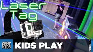 Laser Tag at the Rooster Teeth Office - Kids Play