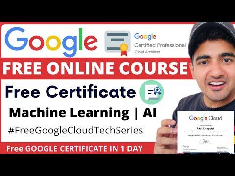 Google Free Certification Course | Free Google Courses Cloud Tech ...