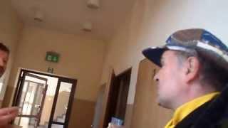 preview picture of video 'SAM 6163 Przykład Odgórny łamania prawa Wójt z papierosem KLONOWA'