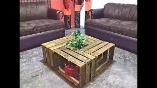 Mesa De Centro Vintage /  Living Room Table