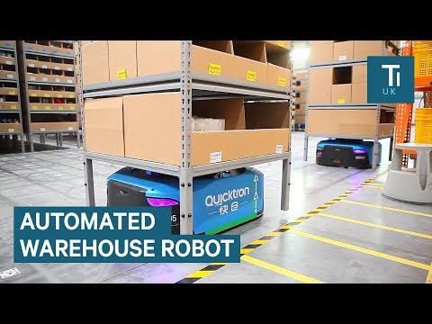 Inside Alibaba's smart warehouse staffed by robots