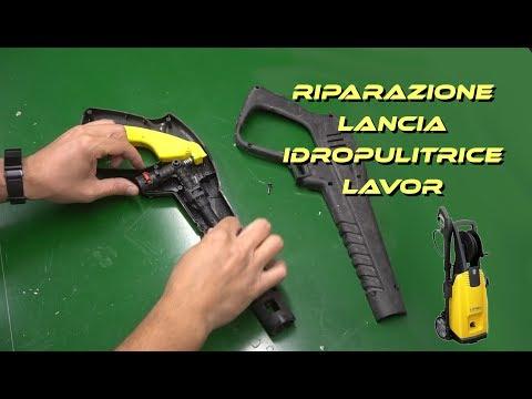 come riparare una lancia di idropulitrice - sostituzione componenti
