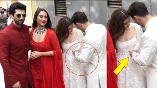 Varun Dhawans Adjusts Alia Bhatts Dress At Kalank Trailer Launch Event Will Melt Your Heart