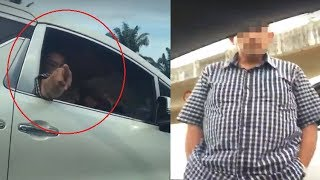 Halangi dan Ancam Pengemudi Mobil, Pria Ini Mengaku dari Kementerian Dalam Negeri, Videonya Viral