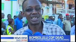A Bombolulu based police officer found dead