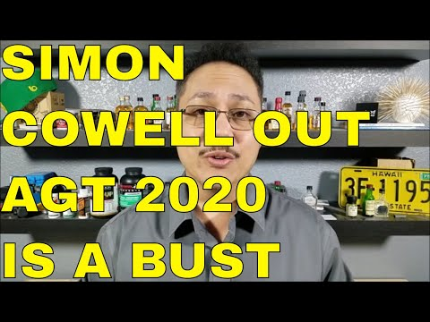 SIMON COWELL FALLS OF BIKE AND BREAKS BACK AGT 2020 IS A BUST