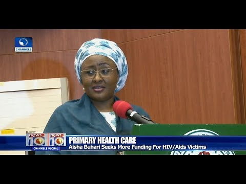 Aisha Buhari Seeks More Funding For HIV Aids Victims