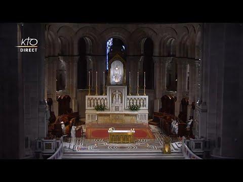 Prière du Milieu du jour du 1er octobre 2021 des Bénédictines du Sacré-Coeur de Montmartre