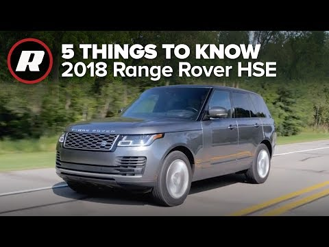 2018 Land Rover Range Rover HSE Td6: 5 things to know