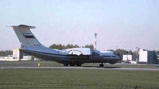 Ил-76МД взлетает из Толмачёво