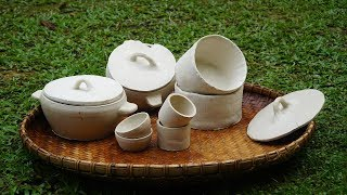 Ceramics: How To Make Clay Pot, Bowl, Cup (handmade Ceramics)
