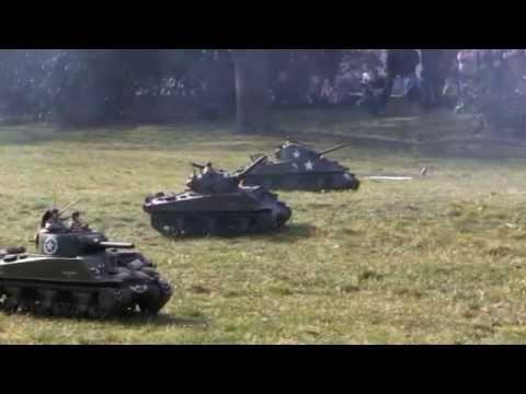 RC tank - WW2 Circus 1/6 - Battle of Bastogne