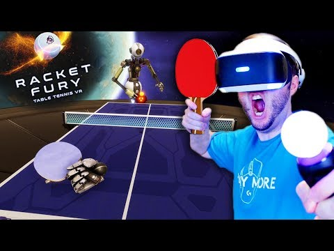 BEST PING PONG GAME ON PSVR? | Racket Fury: Table Tennis (PlayStation VR)