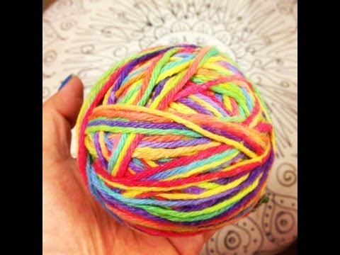 HOW TO: Make Rainbow Yarn - Dye