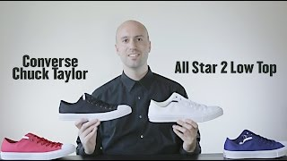 4 Colors - Low Top - Converse Chuck Taylor All Star 2 Review + Unboxing +On Feet - Mr Stoltz 2015