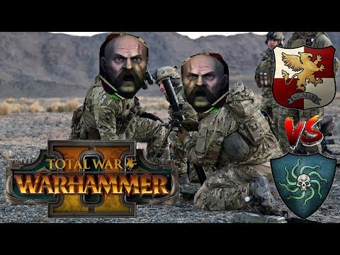 Empire vs Vampire Coast | VOLKMAR MORTAR STRIKE - Total War Warhammer 2