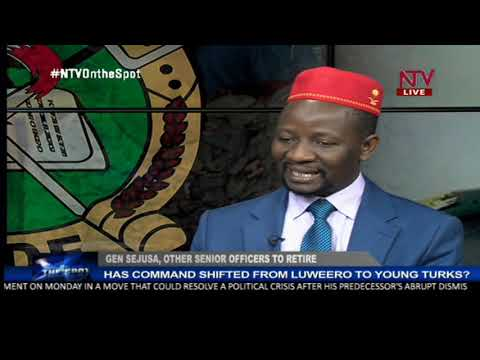 ON THE SPOT: Why are senior millitary officers being retired?