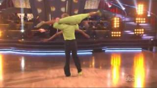 Nicole Scherzinger & Derek Hough - Dancing With The Stars - Freestyle dance