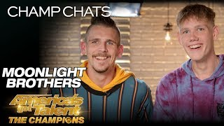 Moonlight Brothers Recall Their First Reaction To The Judges - America's Got Talent: The Champions thumbnail