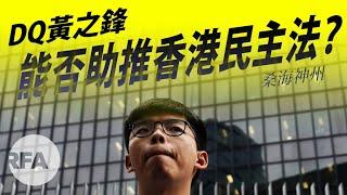 【桑海神州】DQ黃之鋒能否助推香港民主法?
