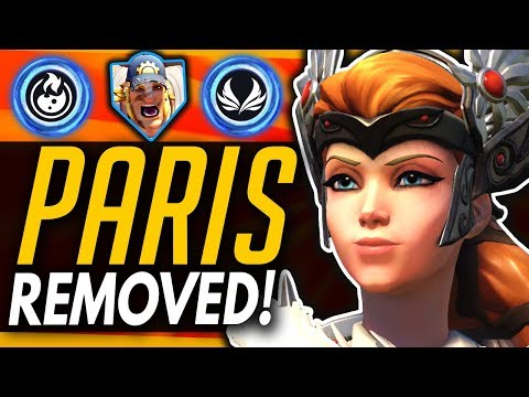 Overwatch | Why Paris Was Removed From The Game - Hidden Mercy Nerfs & Torbjorn Buffs